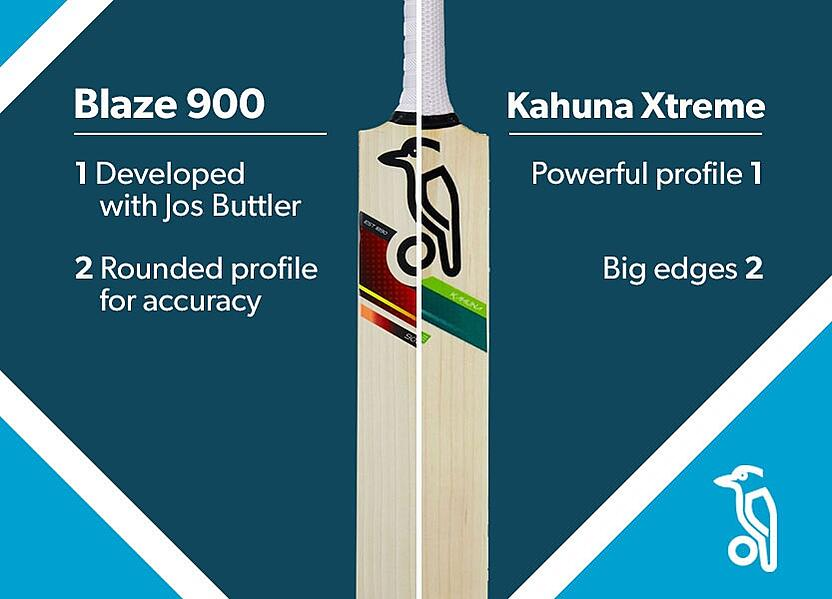 blog best bats 2017 kookaburra Blaze 900 and Kahuna