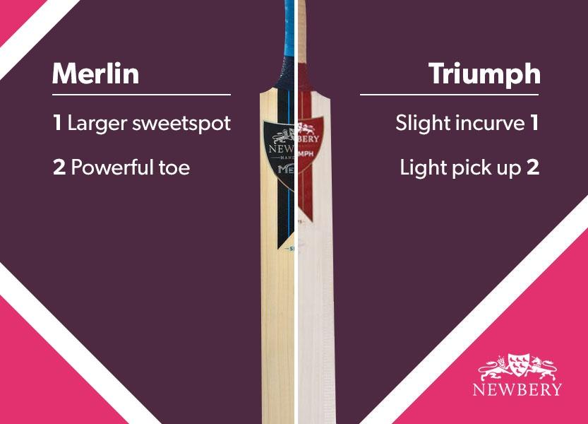 blog best bats 2017 Newberry Merlin and Triumph