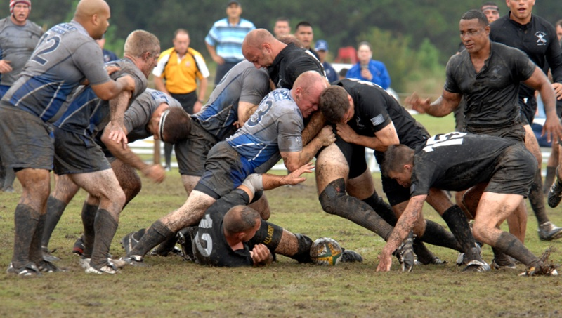 Rugby Union ruck