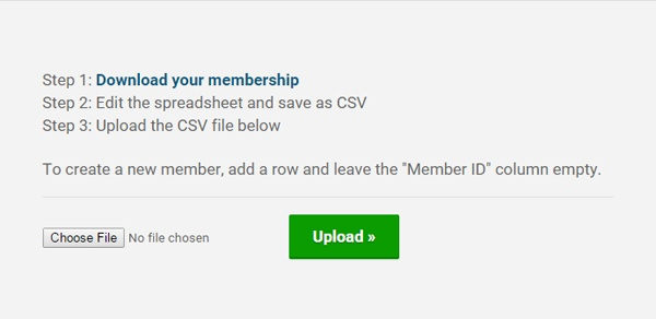 Adding Members