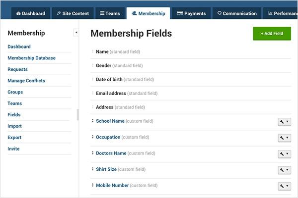 Membership Fields