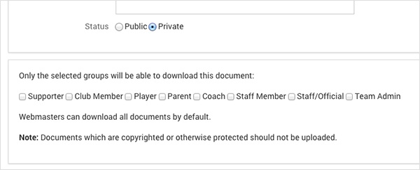 Private Documents