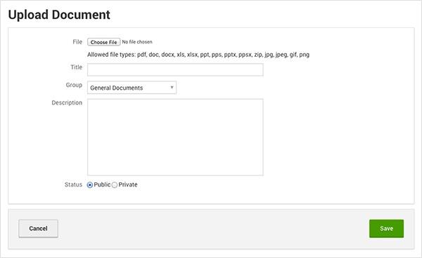 Adding Document