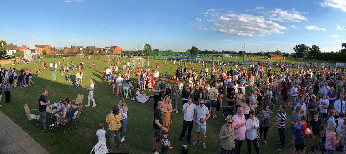 Kibworth Town FC crowd