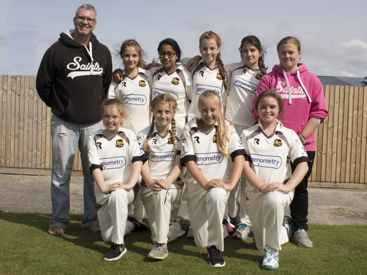 Pudsey St Lawrence girls team