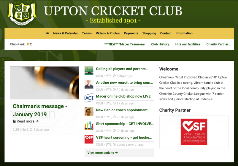 Upton Cricket Club