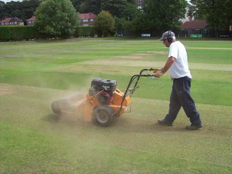 cricket groundsmen