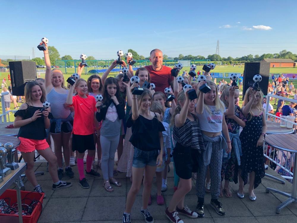 kibworth Town Girls trophies
