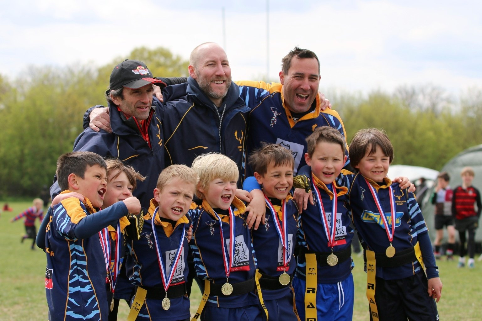 teddington RFC medals
