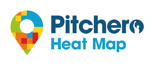 Pitchero Heat Map Logo