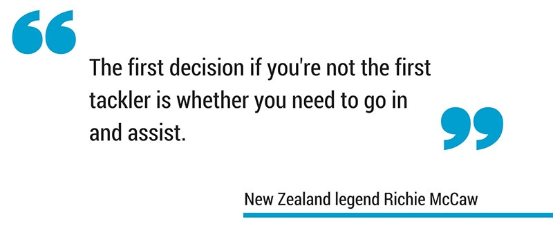 Conrad Smith attacking cut plays in rugby quote