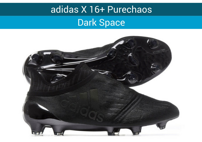 adidas X 16+ Purechaos Dark space football boots
