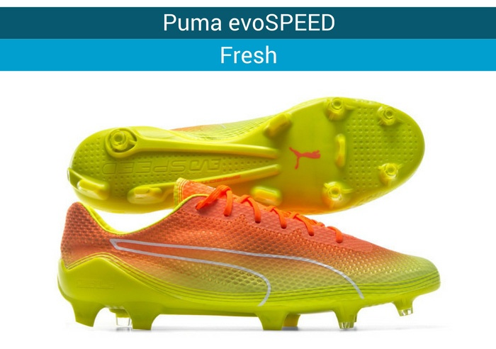 Puma evoSPEED fresh football boots