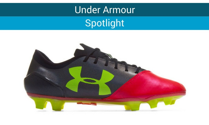 under armous spotlight football boots
