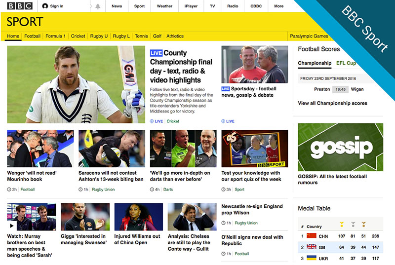 11 of the uk s best sports websites