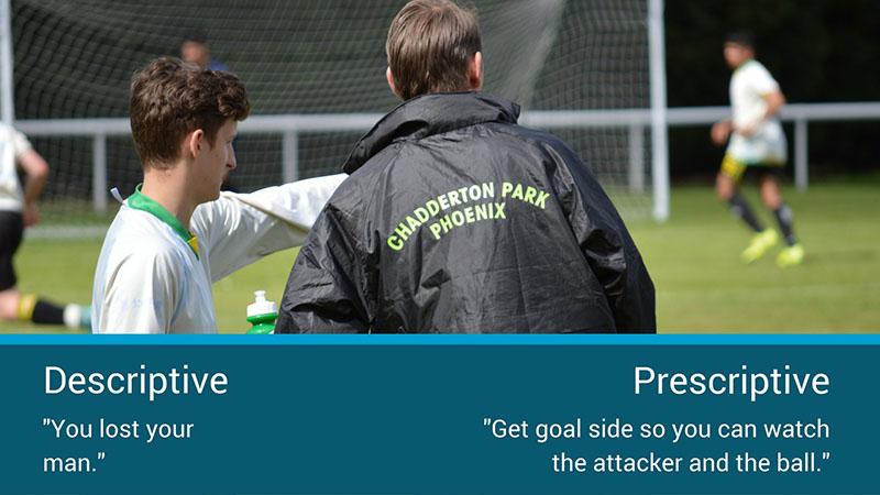 coaching feedback examples