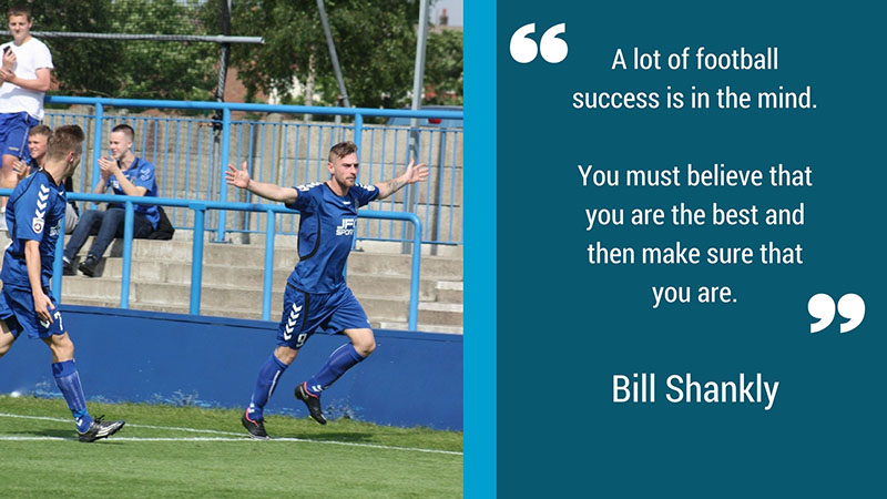 Bill Shankly quote on confidence in football