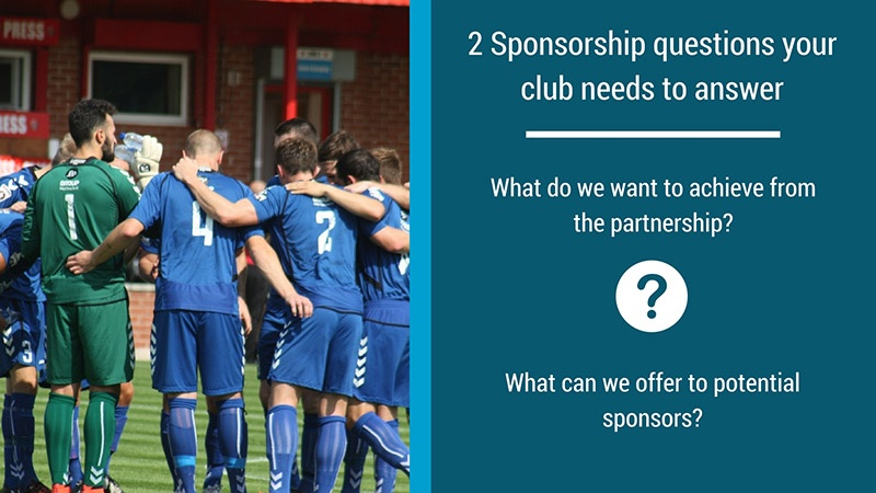 How to create a successful sports sponsorship proposal