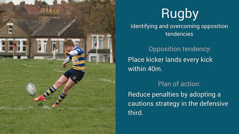 rugby scouting tendencies examples