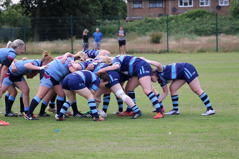 Rugby League scrum