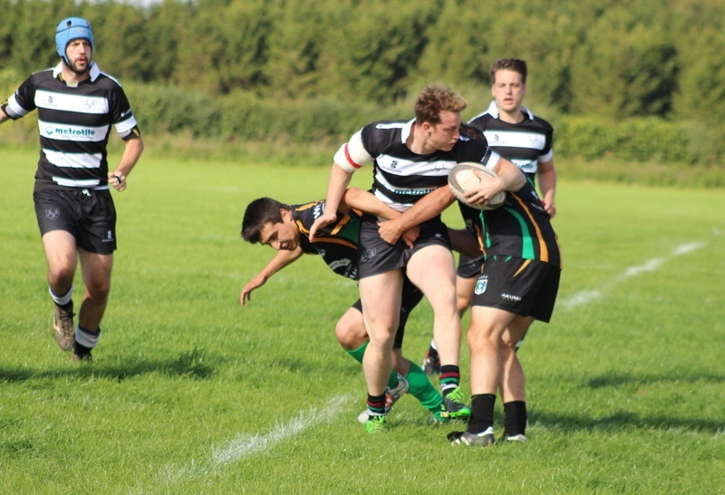 rugby union action shot Chippenham RFC