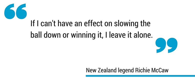 Richie McCaw defending the breakdown quote