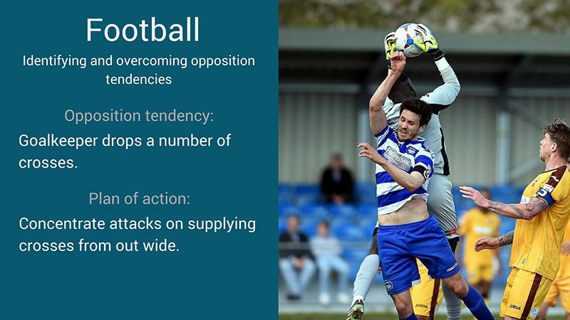 football scouting tendencies examples