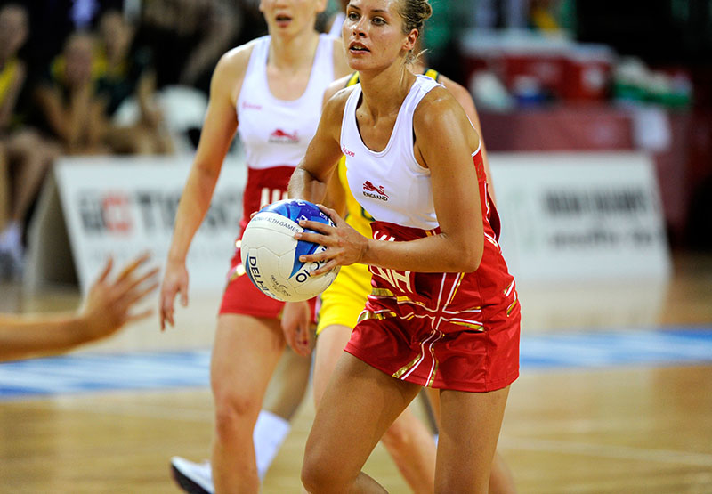 sports photography image netball player