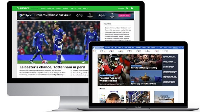 11 of the us best sports websites