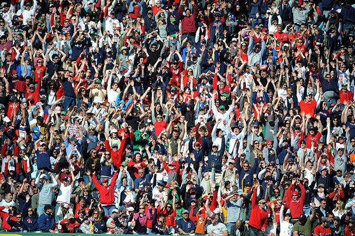 sports team building activities sports crowd cheering