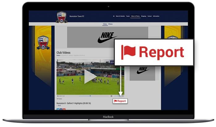 video uploader update laptop and mobile mockup